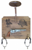 Click this Image to visit the Cavalry Stetson Displays for Army Retirement category.