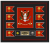 Click this Image to visit the Custom Framed Army Colors | Army Retirement category.