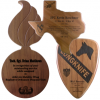 Click this Image to visit the  Custom Shape Plaques category.