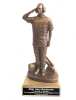 Flightline Maintainer Statue - Male on Walnut Base  Air Force Statues | Gift Figures