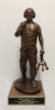 Port Dawg Statue on Walnut Base Air Force Statues | Gift Figures