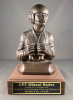 Tank Commander Statue on Walnut Base Army Cavalry Gifts | Awards