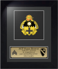 Framed Army Cavalry Insignia Award Army Cavalry Gifts | Awards