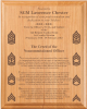 NCO Creed Plaque 12 x 15 Army NCO Gifts