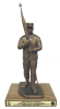 First Sergeant with Cap Statue  Army NCO Gifts
