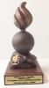 Ordnance Bomb Statue on Walnut Base Army Soldier Statue | Figurine