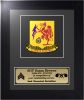 Framed Army Crest Award Framed Army Gifts, Creeds, Awards