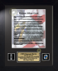 Army Warrant Officers Creed 11 x 14 Framed Army Gifts, Creeds, Awards