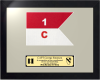 Framed Army Guidon Gift 16 x 20 Framed Army Guidons