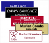 1 X 3  Laser Engraved Name Badges | Name Tags