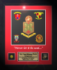 Framed Marine Corps Laser-Cut Award Marine Corps Retirement Gifts