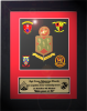 Framed Marine Corps Laser-cut Gift Marine Corps Retirement Gifts