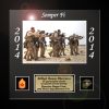 Framed Marine Corps Photo Gift Marine Corps Retirement Gifts