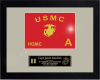 Framed Marine Corps Guidon Gift 16 x 20 Marine Corps Retirement Gifts