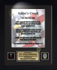Sailor's Creed 11 x 14  Military Creeds | Framed | Personalize