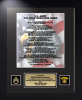 Army Quartermaster Creed 11 x 14 Military Creeds | Framed | Personalize