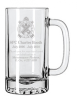 25 oz. Glass Mug Personalized Wedding Gifts