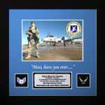 Framed Air Force Photo Award  Air Force Framed Guidons,Gifts, Awards