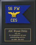 Air Force Guidon Plaque Air Force Guidon Plaques
