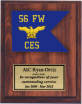 Air Force Guidon Plaque -  Air Force Plaques | Laser Cut Designs