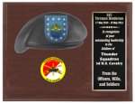 Army Beret Plaque 9 x 12 Army Beret Plaques