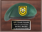 Army Beret Plaque 8x 10 Army Beret Plaques