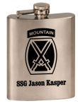 8 oz STAINLESS STEEL Flask Army Gifts | Practical