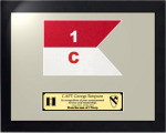 Framed Army Guidon Gift 16 x 20 Army Guidons