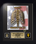 Framed NCO - Backbone of the Army  11 x 14 Army NCO Retirement Gifts