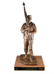 First Sergeant with Beret Statue Army NCO Retirement Gifts