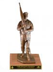 Command Sergeant Major with Beret Statue Army NCO Retirement Gifts