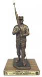 First Sergeant with Cap Statue  Army NCO Retirement Gifts