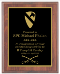 Laser Engraved Basic Plaque Army Plaques | Economy
