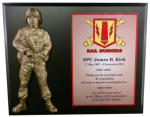 Soldier Relief Plaque Army Relief Plaques |Shields