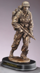 Walking Point Soldier Statue Army Soldier Statue | Figurine