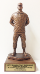 Parade Rest Statue with Cap Army Soldier Statue | Figurine