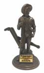 Minuteman Statue with Plow Army Soldier Statue | Figurine