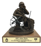 Army Communicator Statue Army Soldier Statue | Figurine