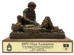 Combat Medic - Corpsman - Male Army Soldier Statue | Figurine