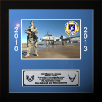 Framed Air Force Photo Award Framed Air Force Gifts