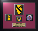 Framed Army Laser-Cut Award Framed Army Gifts