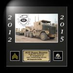 Framed Army Photo Award   Framed Army Gifts
