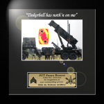 Framed Army Photot Award Framed Army Gifts