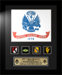 Framed Army Flag Gift 12 x 15 Framed Army Gifts, Creeds, Awards