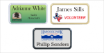Frame Badge - Holds 1 1/2 X 3 Full Color Insert Framed Name Badges | Name Tags