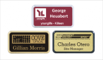 Frame Badge - Holds 1.5 X 3 Laser Engraved Insert Framed Name Badges | Name Tags