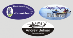 1 1/2 X 3  Full Color Name Badges   Name Tags
