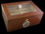 Glass Top Humidor Functional Gift and Award  Ideas for Employees