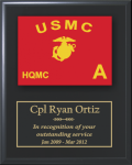 Marine Corps Guidon Plaque Marine Corps Guidon Plaques