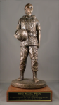 Women in Arms Military Statue on Walnut Base Marine Corps Statues   Gifts